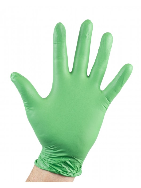 Biodegradable Gloves 20 Pack - Green-455